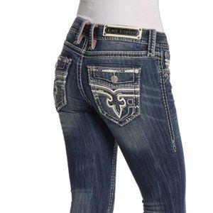 New! Women's Rock Revival Skinny Jeans Size 24-31